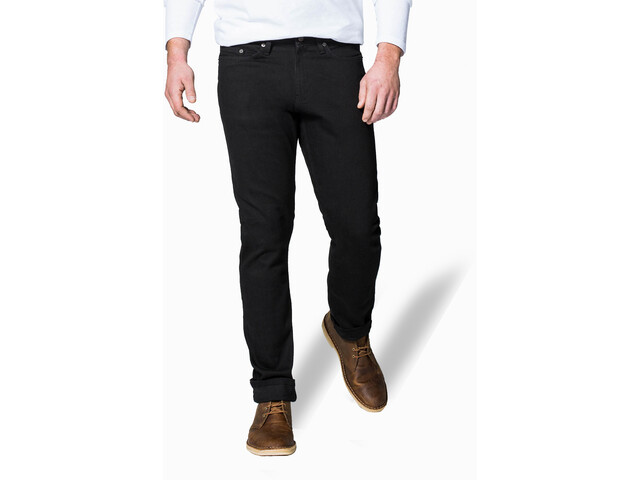 DUER Performance Denim Pantalons Relaxed Homme, black